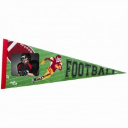 Football Pennant in cases of 50