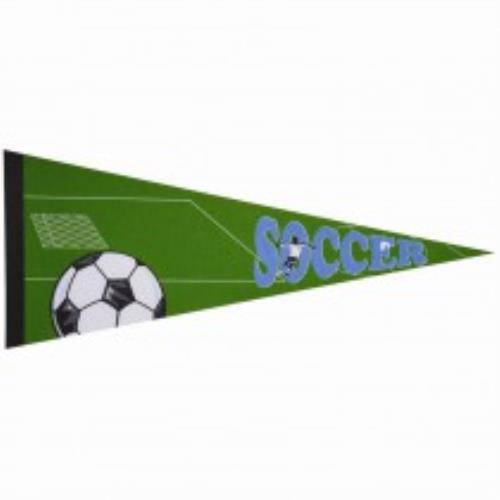 Soccer Pennant in cases of 50