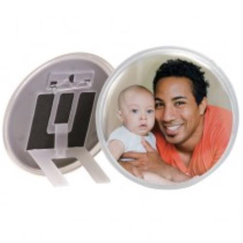 973 - Circle Snap-in Button/Frame 3-3/8