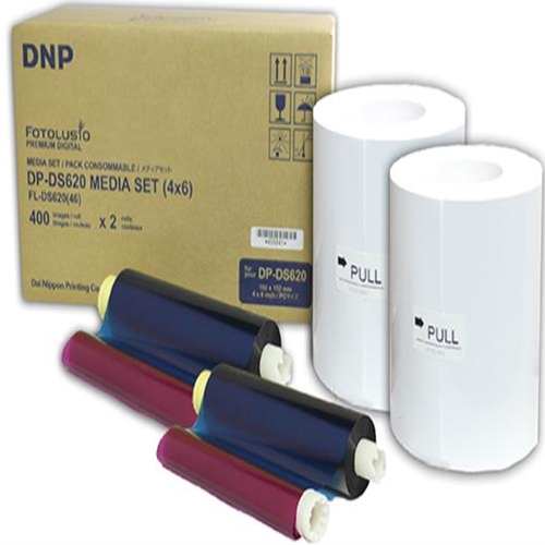4x6 PrintPack for DS620A (800 Prints cs)
