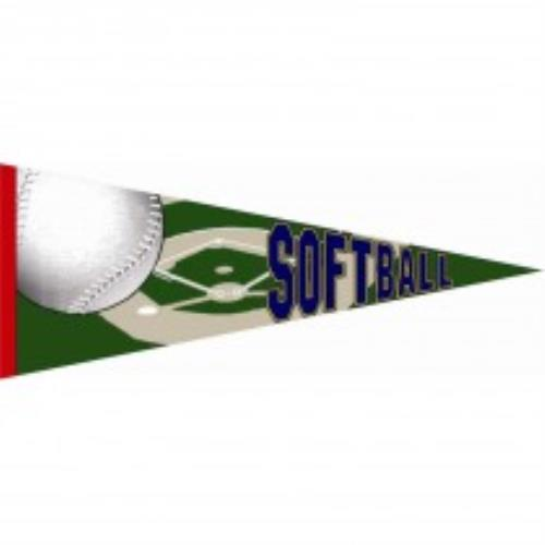 127 - Softball Pennant (case of 50)